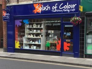 Splash shop front