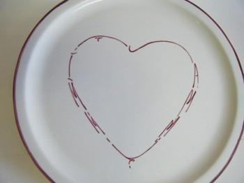 Splash of Colour commission - Love Plate