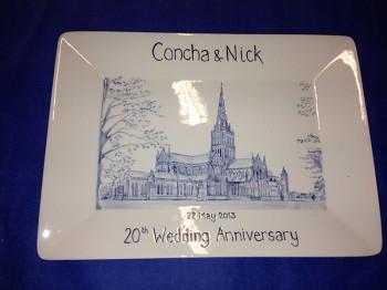Splash of Colour commission - 20th Wedding Anniversary